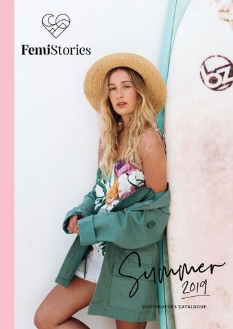 e0416bbaf Femi Stories Spring / Summer 2019 Distributors Catalogue by Femi ...