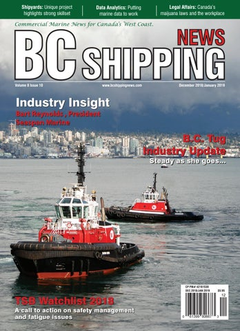 BC Shipping News - December 2018/January 2019 by BC Shipping News