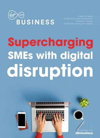 Supercharging SMEs with digital disruption - Sponsored by