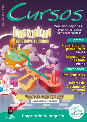 32a68ae338ac Revista Cursos Diciembre 2018 by Unidad de Cursos - issuu