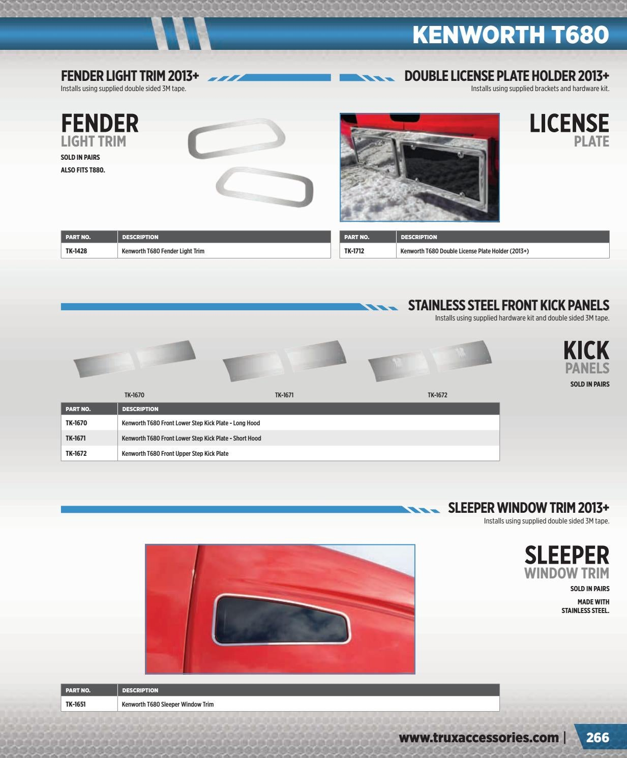 Trux Accessories Catalog v9 by Trux Accessories - issuu