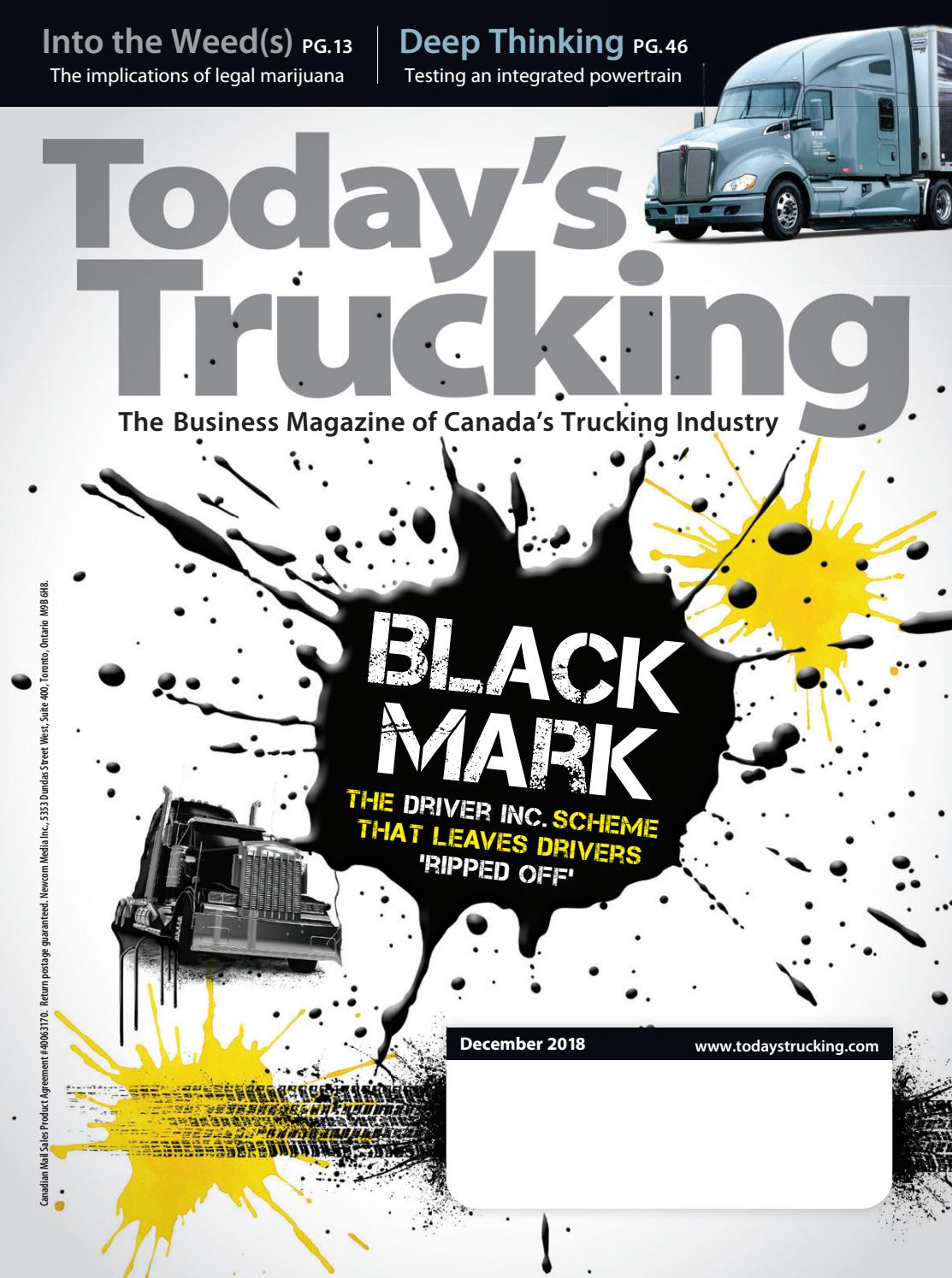 f026e202deb8 Todays Trucking - December 2018 by Annex Business Media - issuu
