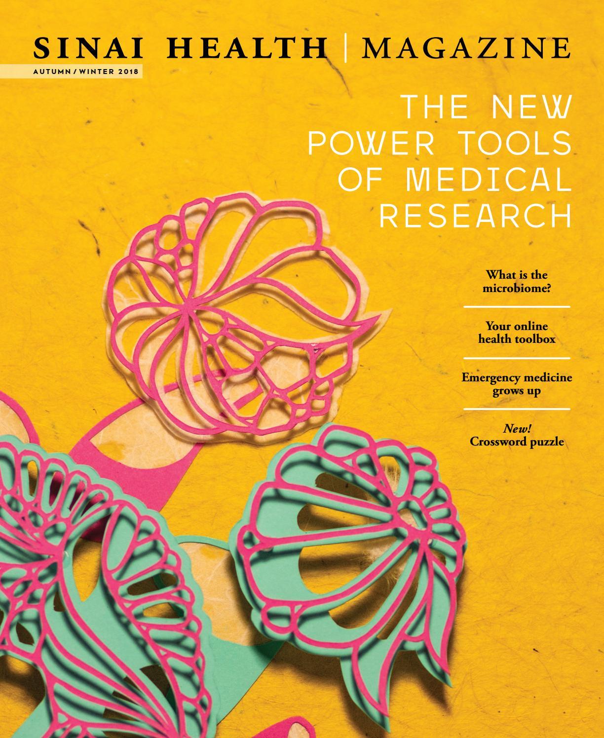 Sinai Health Magazine Fall/Winter 2018 by Sinai Health Foundation