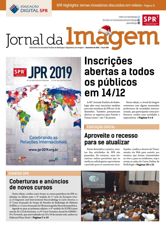 331a9a5690 JI 484 - Dezembro de 2018 by Sociedade Paulista de Radiologia - issuu