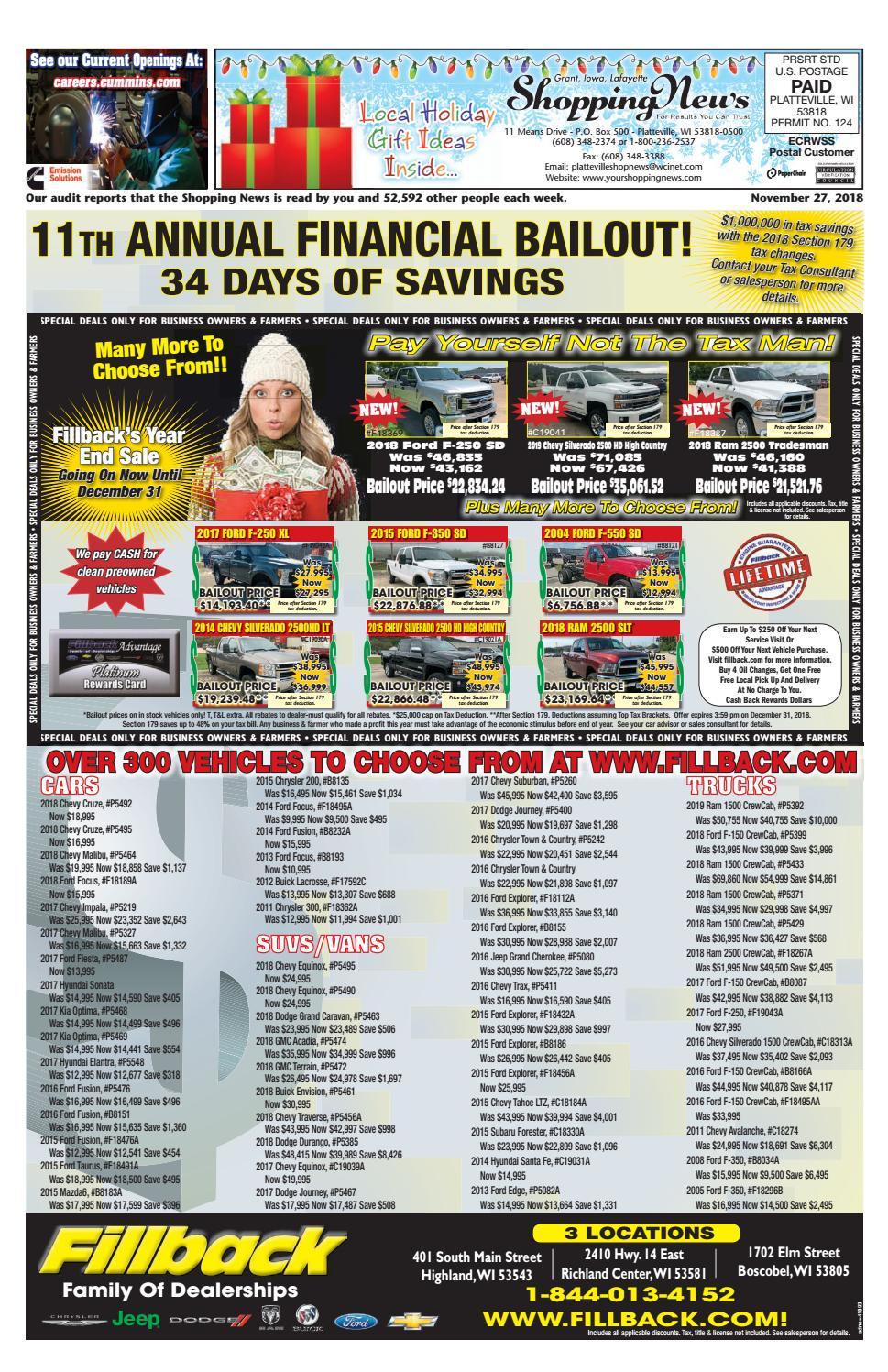 67bfff4ddf5 GIL Shopping News 11-27 by Woodward Community Media - issuu