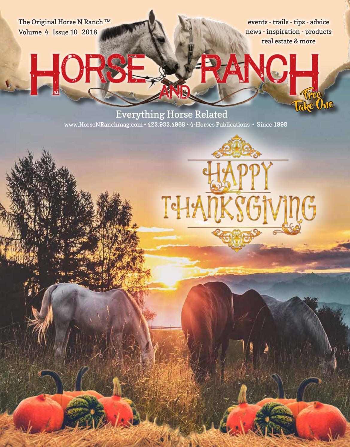 Horse N Ranch Nov 2018 By Horse Ranch Issuu