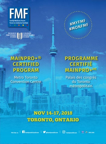 FMF Program 2018 by Family Medicine Forum - issuu d4bd18086f33