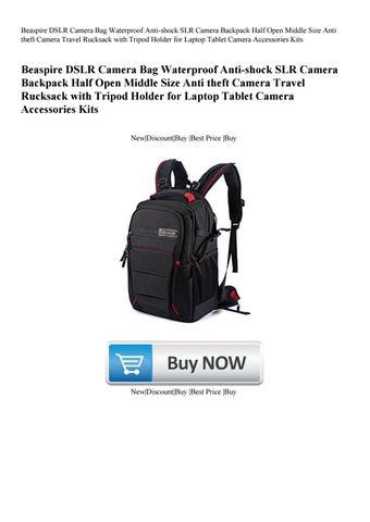 Beaspire DSLR Camera Bag Waterproof Anti-shock SLR Camera