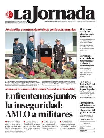 La Jornada 11 26 2018 By La Jornada Issuu