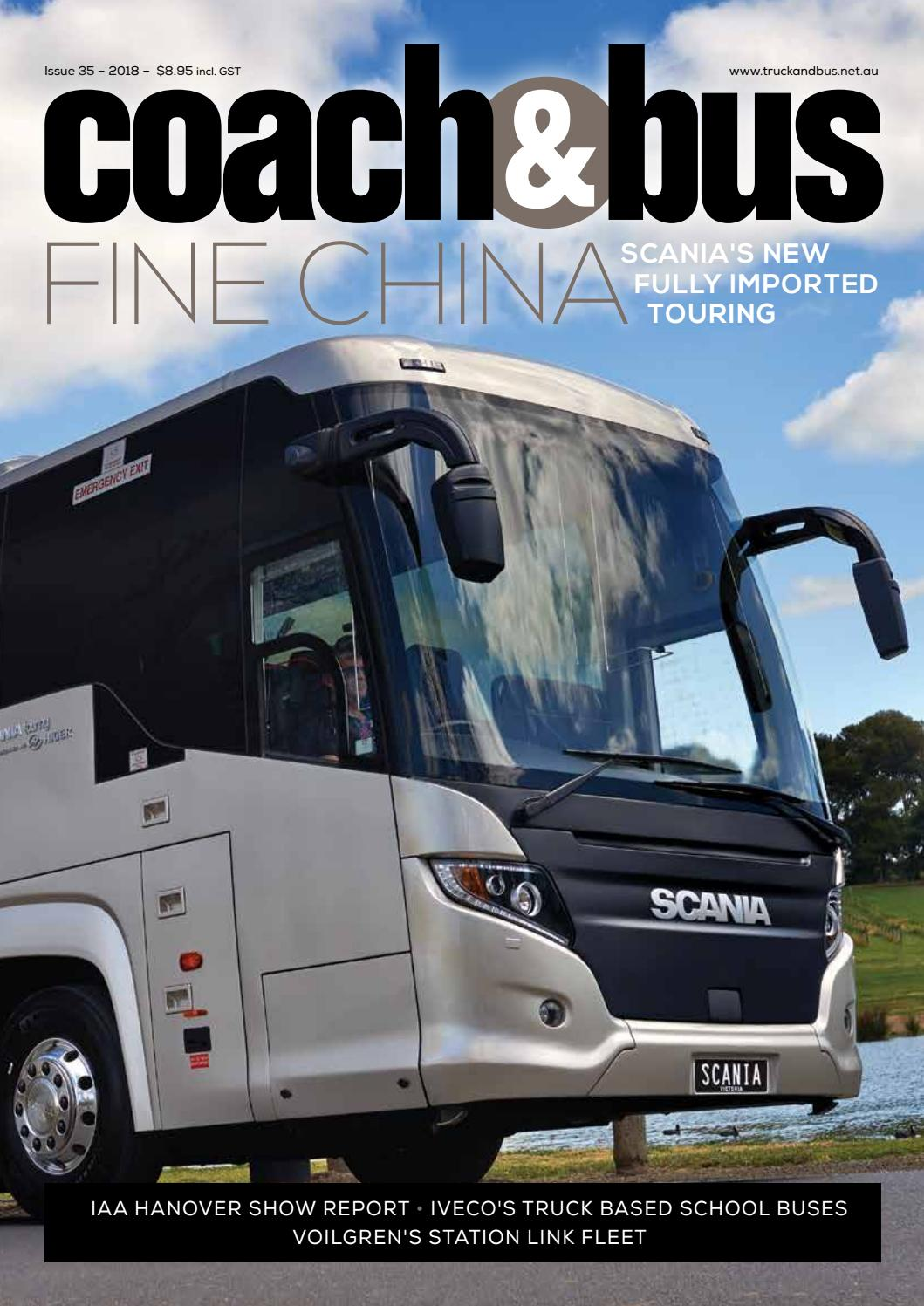 Coach & Bus 35 by Transport Publishing Australia - issuu