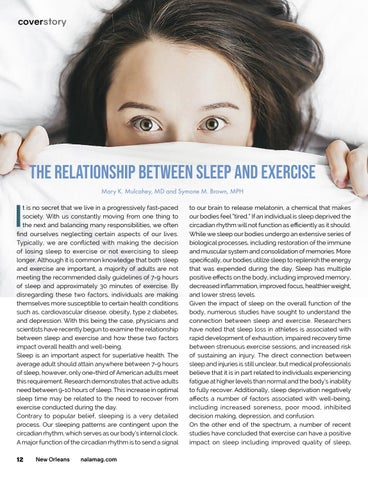 Page 12 of The Relationship Between Sleep and Exercise