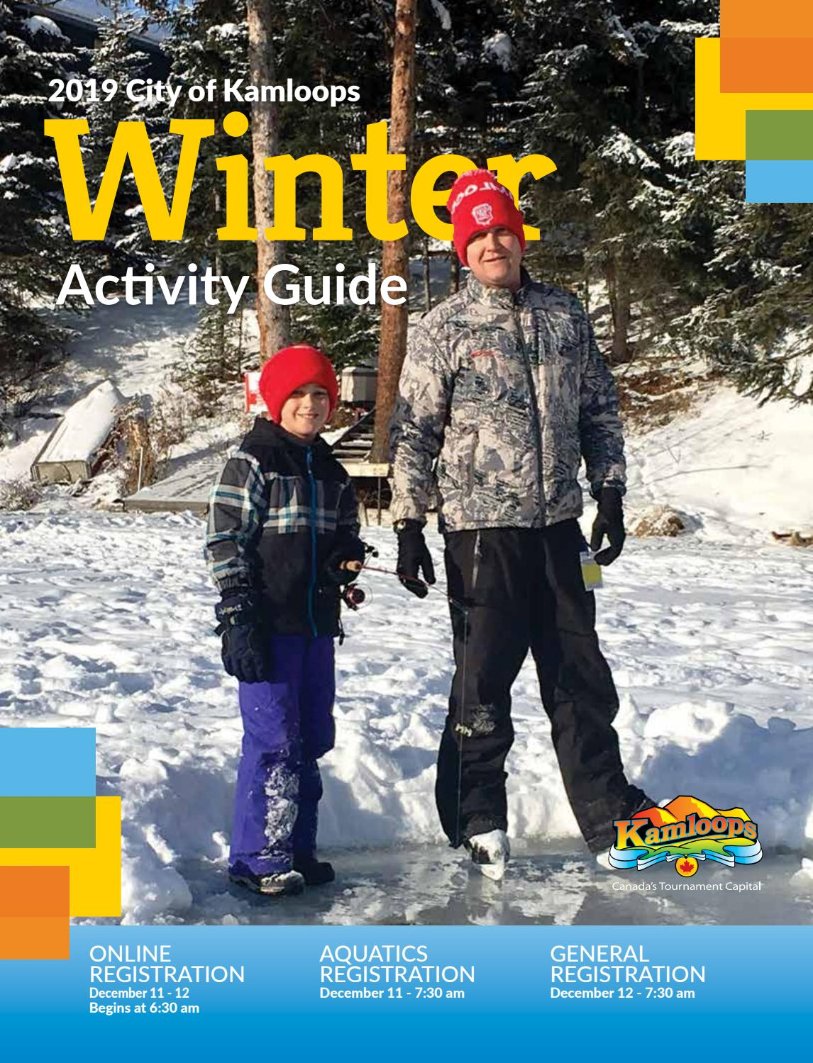 2019 - City of Kamloops Winter Activity Guide by KamloopsThisWeek
