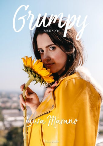 GRUMPY MAGAZINE #12 (Fall 2018) - Laura Marano