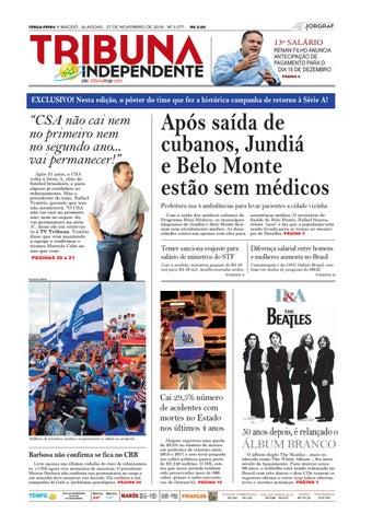 Edição número 3277 - 27 de novembro de 2018 by Tribuna Hoje - issuu 401e0bace0