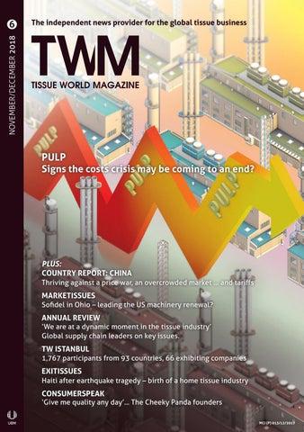 Tissue World Magazine - Nov / Dec 2018 by Tissue World