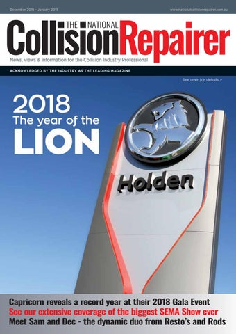 Dec 2018 Jan 2019 By The National Collision Repairer Issuu