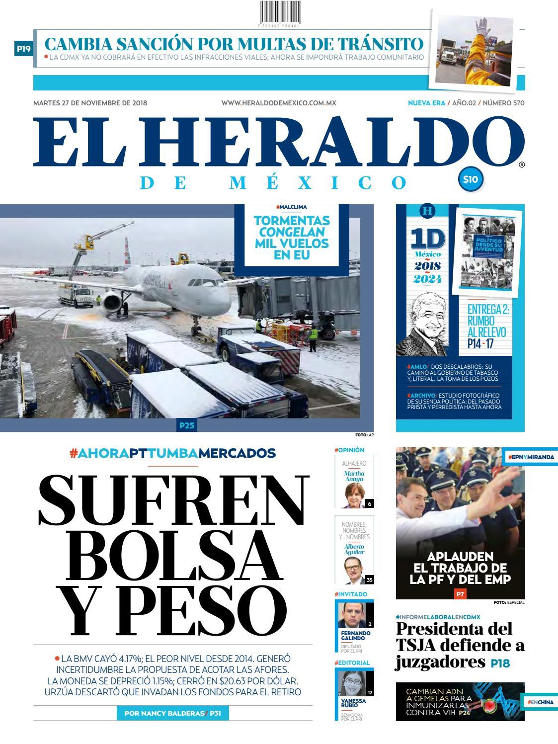 27 noviembre de 2018 by El Heraldo de México - issuu f2932ba8a40