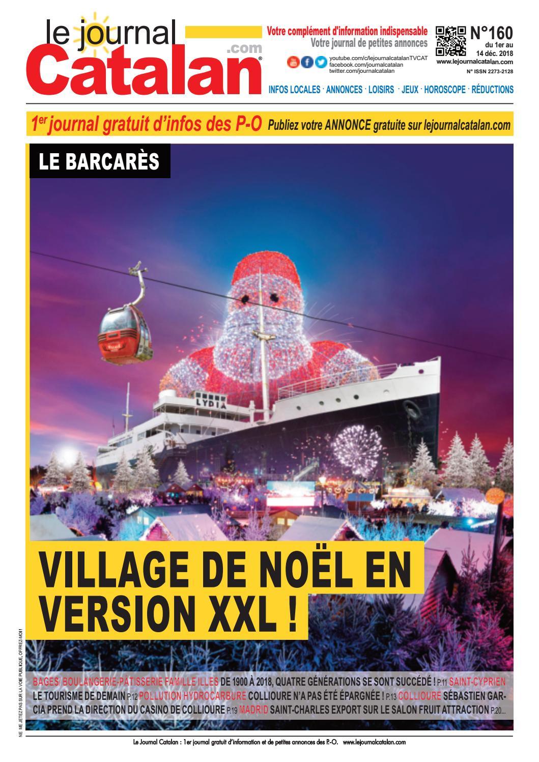 6c5c166c7c6 Le Journal Catalan N ° 160 - Pyrénées-Orientales by LE JOURNAL CATALAN -  issuu