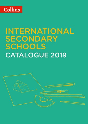 International Secondary Catalogue 2019 by Collins - issuu