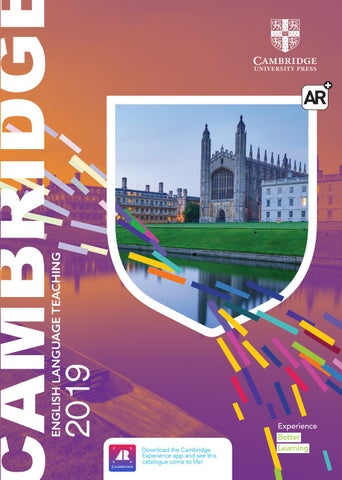 Download the Cambridge Experience app and see this catalogue come to life!  cambridge.org cambridge-experience 7d766e421c