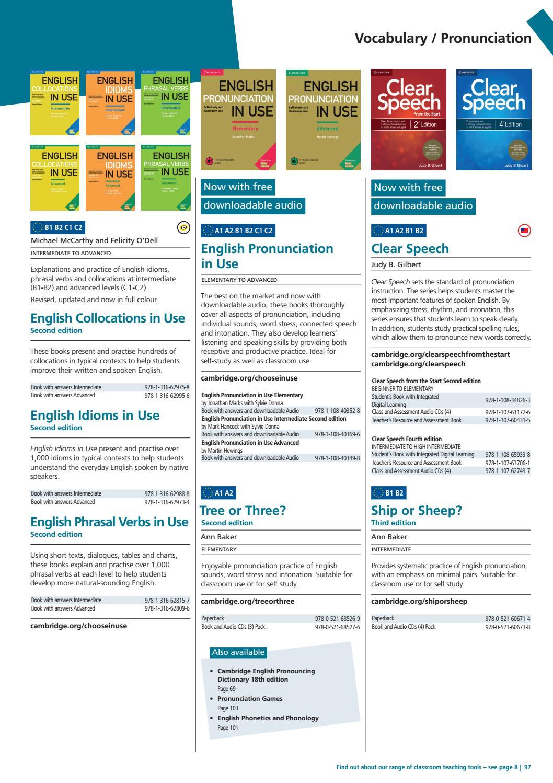 2019 ELT Cambridge University Press Catalogue