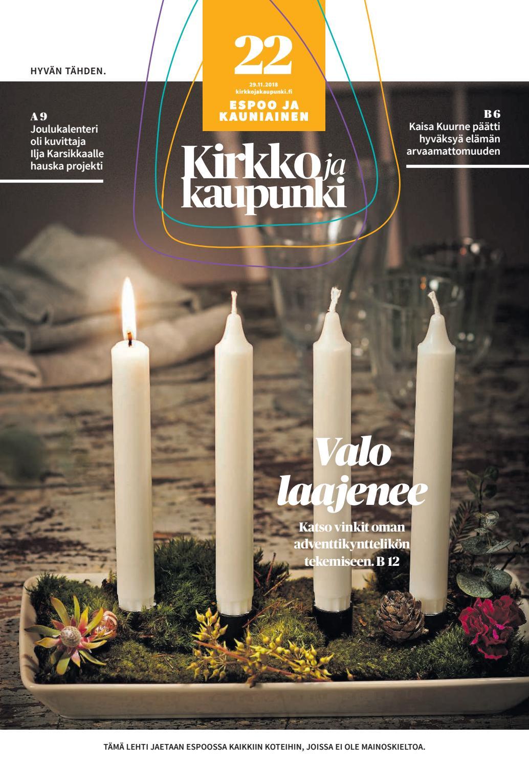 Kirkko ja kaupunki 2018 22 Espoo by Kirkko ja kaupunki - issuu