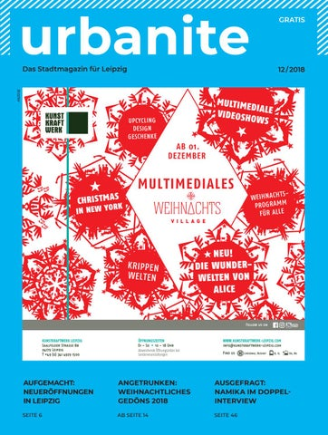 2d41079872 urbanite | Stadtmagazin Leipzig | Dezember 2018 by urbanite - issuu