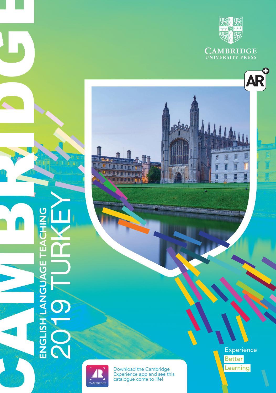 2019 ELT Cambridge University Press Catalogue Turkey By