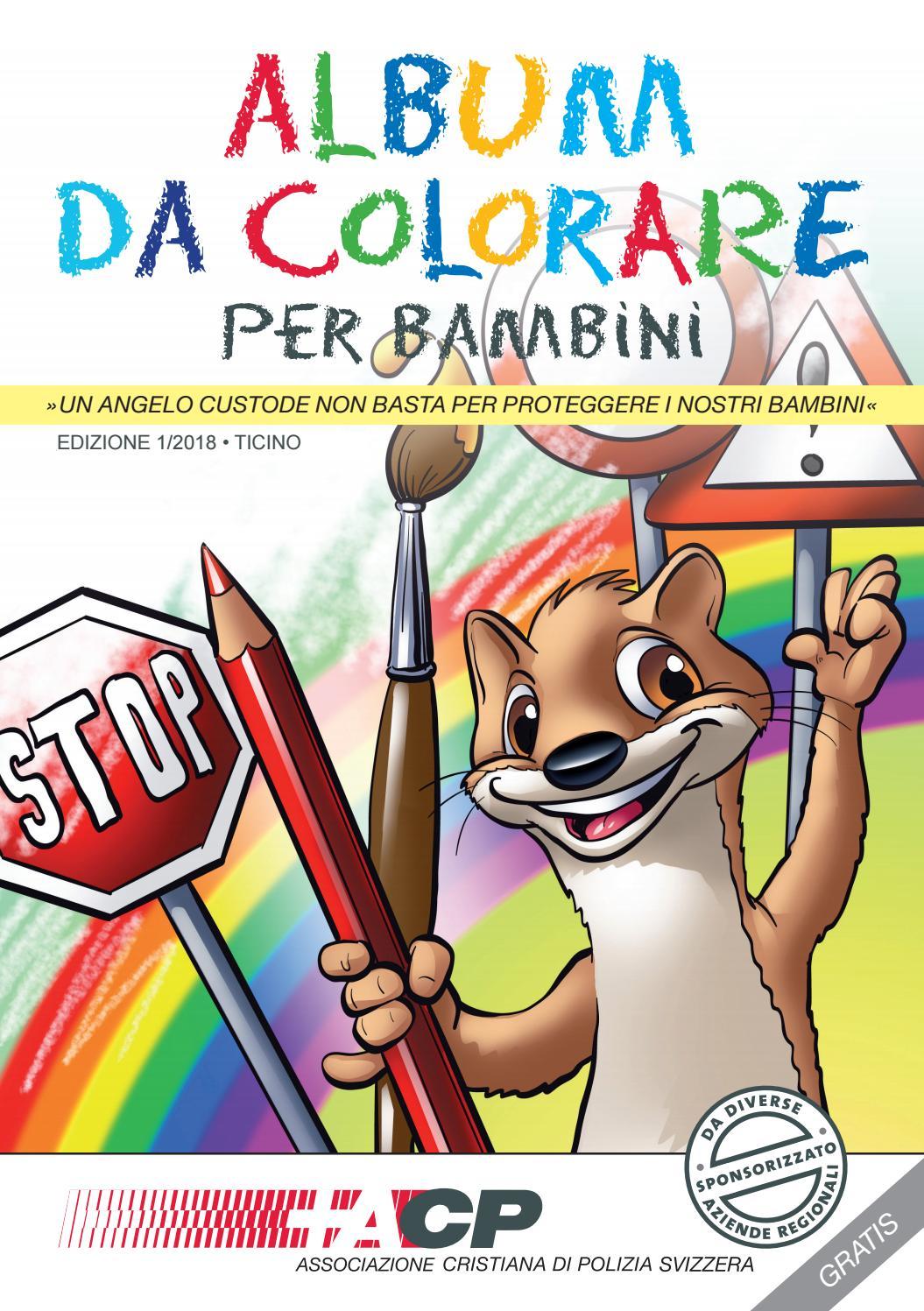 Acp Album Da Colorare Per Bambini By Iv Group Issuu