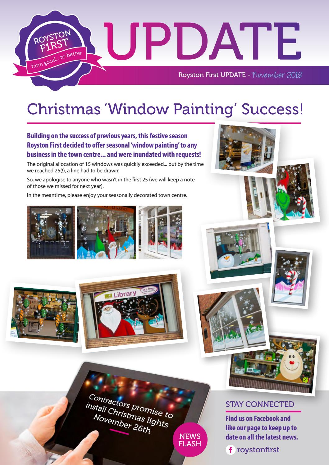 Royston First Update - November 2018 by Royston First - issuu