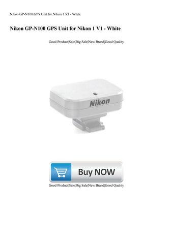 NIKON GP-N100 GPS UNIT WINDOWS 8.1 DRIVERS DOWNLOAD