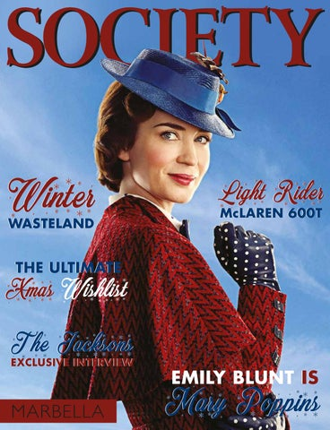 38dc385d5d4 Society Marbella December - Mary Poppins by Icon Publishing - issuu