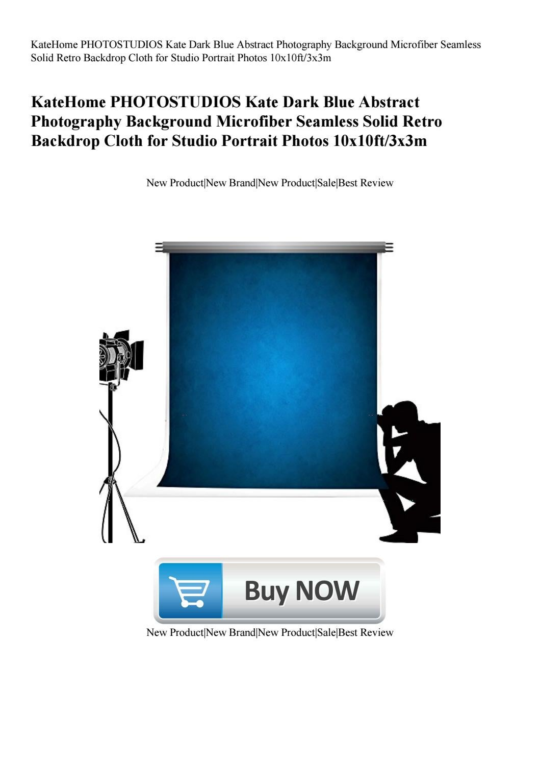 KateHome PHOTOSTUDIOS Kate Dark Blue Abstract Photography