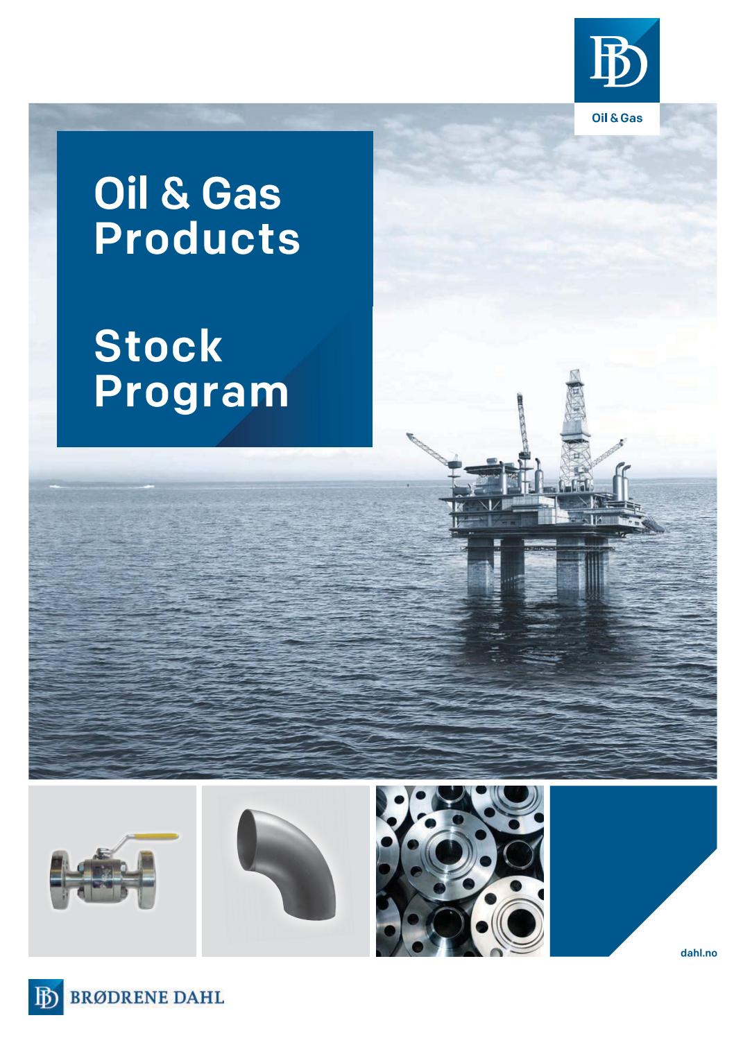 Oil & Gas by Brødrene Dahl - issuu