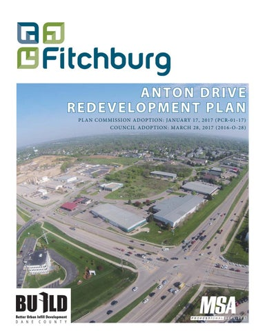 Fitchburg Anton Drive Redevelopment Plan by MSA Professional