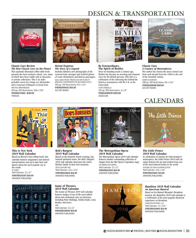Rizzoli Bookstore Holiday Catalog 2018 by Rizzoli