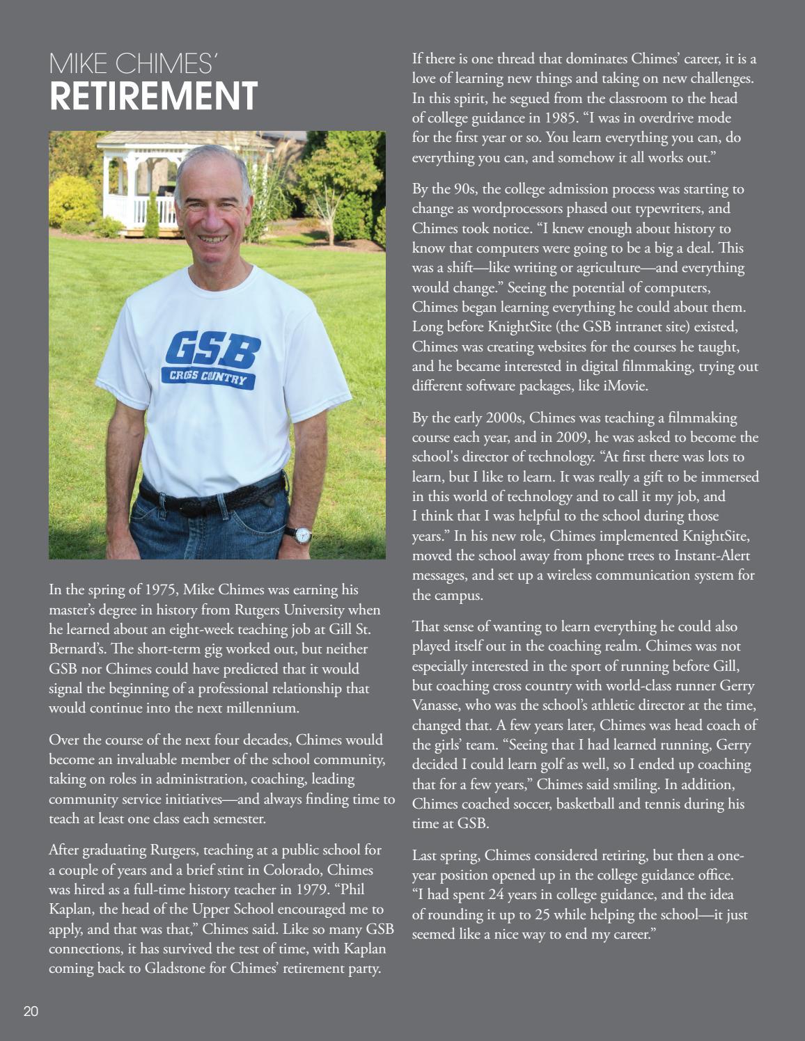 35eb8f838268 GSB Alumni Magazine  Spring Summer 2018 by Gill St. Bernard s School ...