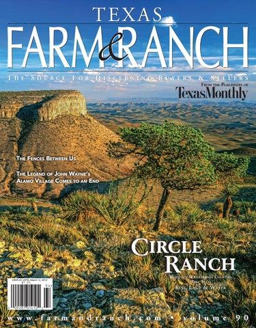 Texas Farm & Ranch, vol 90 by Farm and Ranch Publishing