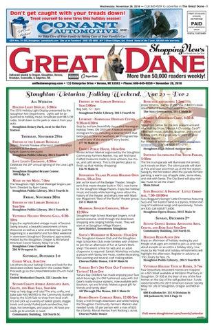 11/28/18 Great Dane Shopping News by Woodward Community