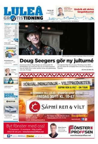 0d0db896b2e4 Luleå Gratistidning vecka 48, 2018 by Svenska Civildatalogerna AB ...