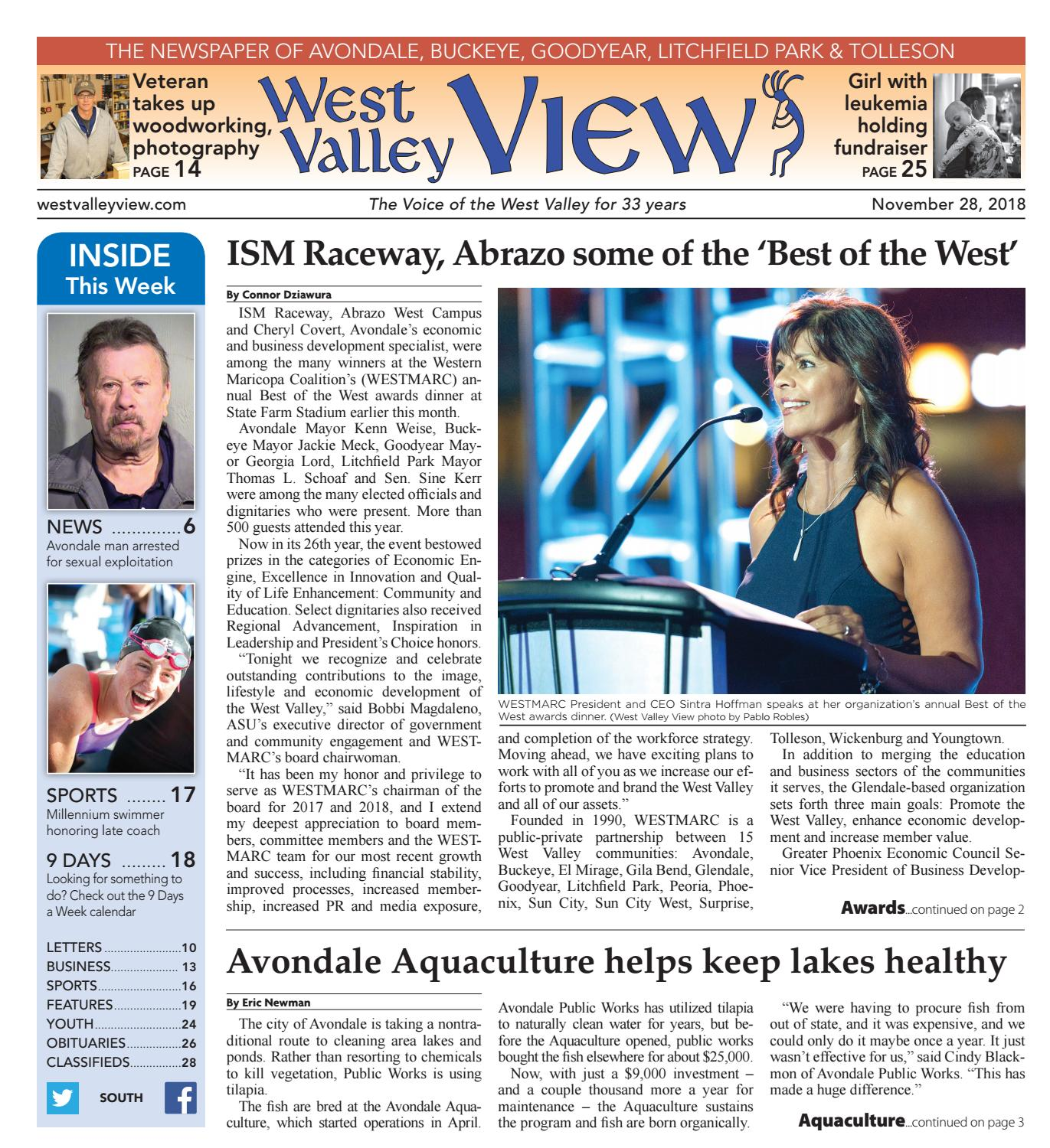 West Valley View: South November 28, 2018 by Times Media