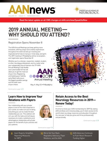 Artists In Action November 22nd Aane >> 2018 November Aannews By American Academy Of Neurology Issuu