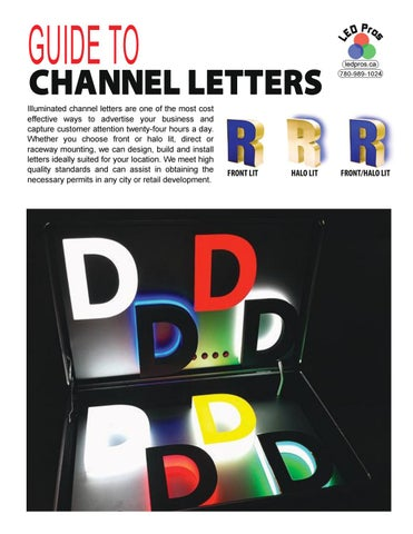Guide to Channel Letters by LEDPros - issuu