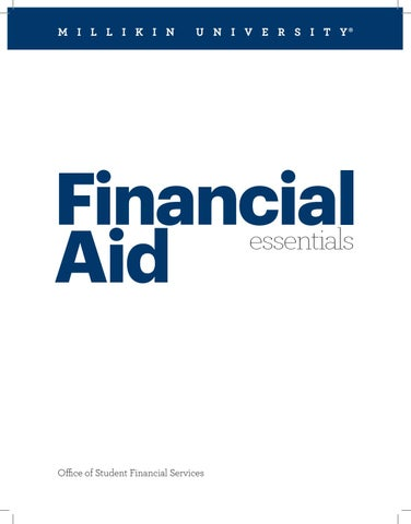 Millikin Campus Map.Millikin University Financial Aid Essentials 2019 By Millikin