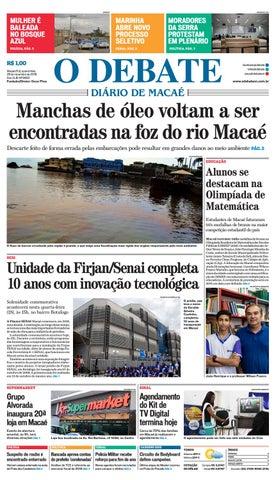 Edição 9692 28-11-2018 by O DEBATE Diario de Macae - issuu ae8db00ea7