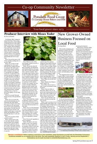 Co-op News Spring 2018 by Potsdam Food Co-op - issuu