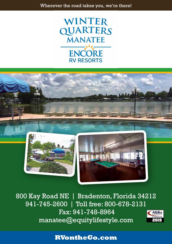 Winter Quarters Manatee Rv Resort By Ags Texas Advertising