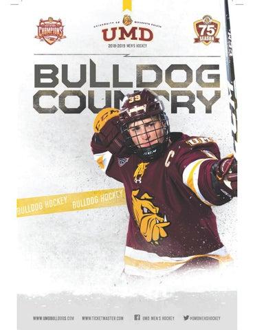 size 40 80655 b8a2c UMD Men s Hockey Media Guide 2018-19 by UMD Bulldogs - issuu