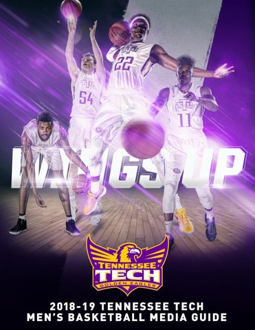 2018-19 Tennessee Tech Men s Basketball Media Guide by Tennessee ... b620754fb
