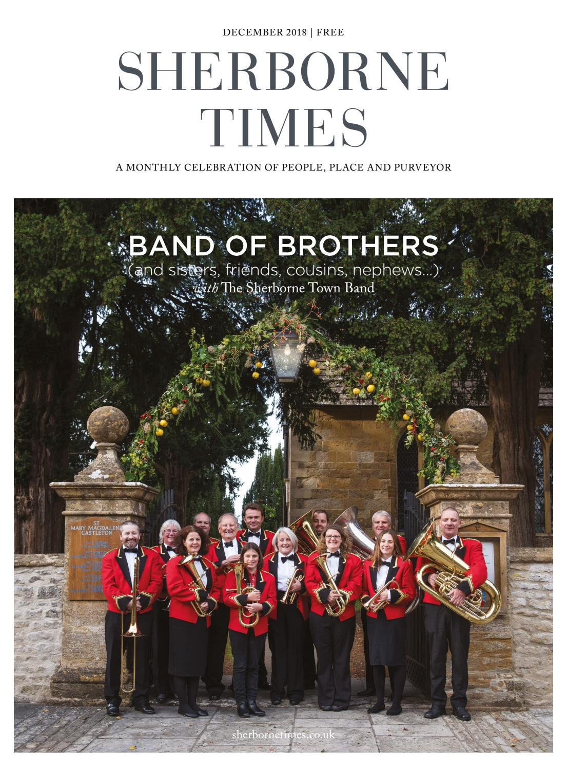 7e2766d8125cf Sherborne Times December 2018 by Sherborne   Bridport Times - issuu